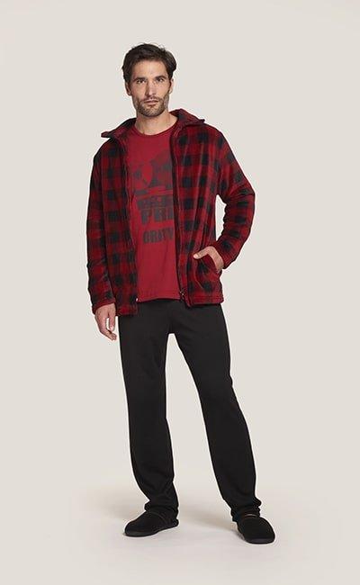 pijama belty caballero rojo min